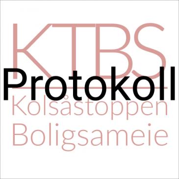 Protokoll Ordinært Sameiermøte 29. april 2015